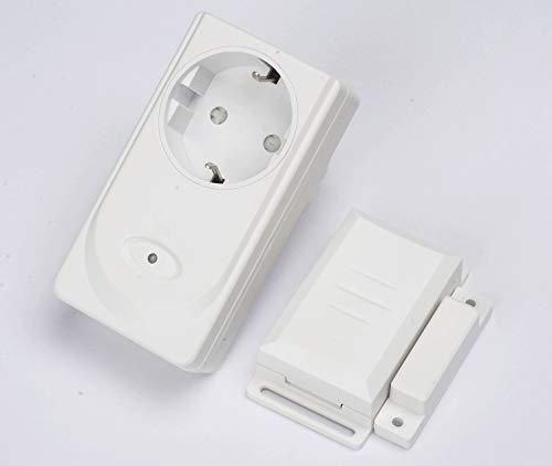 Funk Abluftsteuerung DIW 3600 W - Fensterkontaktschalter DFM-1000 DFM-DZS