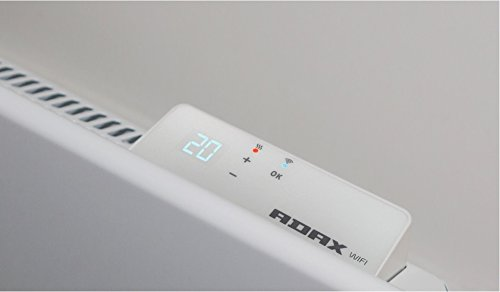 Adax Neo Wifi Electric Wall Heater. Home Automation Heating, With Smartphone Controlled Timer And Thermostat, Splash…