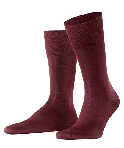 FALKE Herren Socken Tiago, Baumwolle, 1 Paar, Rot (Barolo 8596), 45-46 (UK 10-11 Ι US 11-12)