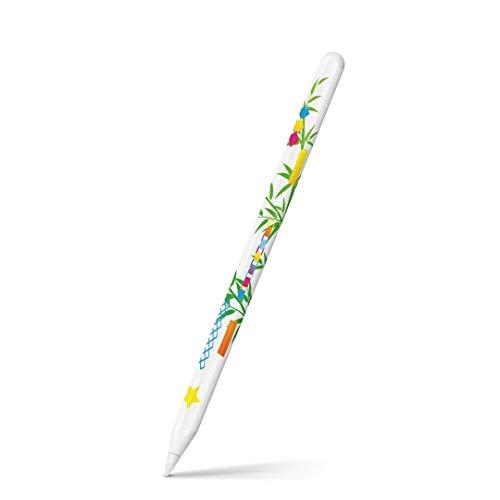 igsticker Apple Pencil 第2世代 専用スキンシール アップル ペンシル対応 シール ステッカー アクセサリー 七夕 イベント 星 013355
