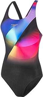 Speedo Women's Placement Digital Powerback Swimsuit