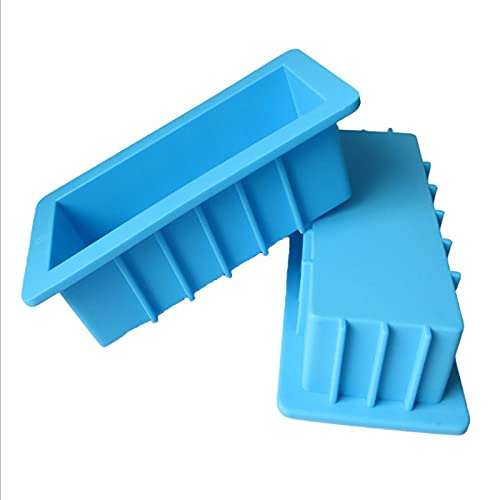 FSSQYLLX Loaf Tins Rectangular Silicone Mold Bread Cake Mold Toast Baking Tools Bakeware DIY Kitchen Accessories