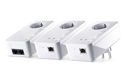 Devolo dLAN Multiroom WiFi Kit 550+ - Kit 3 Piezas PLC