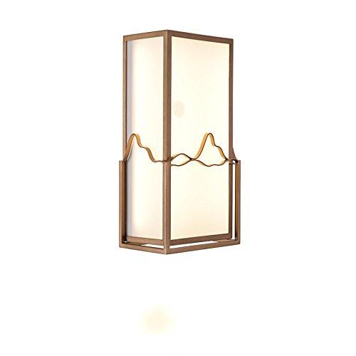ZWL Led Rétro Lampe murale en fer Chambre à coucher Lampe de chevet Salle de thé Salon de salle de séjour Lampe murale, Creative 16 * 36CM Balcon Lampe murale Couloir Lumières de l'allée Décoration intérieure Lampes et lanternes Eclairage des escaliers mode ( Couleur : #1 )