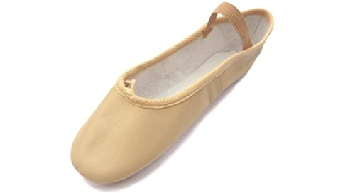 Roch Valley Ophelia Full Sole Leather Ballet Shoes C8 Pale Pink