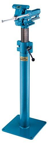 Heuer Höhenverstellgerät, Stand Lift für Schraubstock 160 mm (müheloses Einstellen des Schraubstocks; perfekte Ergänzung; stufenlos 200 mm Höhenverstellbar) 117160