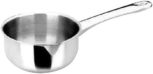 Ibili 665310 - Cazo Inox 18% Prisma Con Mango Metal, diámetro 10 Cm