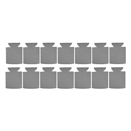 Party Favors - Funda de neopreno portátil para enfriador (50 unidades), color gris