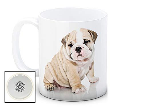 British Bulldog chien chiot – de haute qualité tasse à thé café