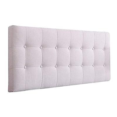1, material: la caja de la almohadilla está hecha de lino, de relleno es una esponja y rebota rápidamente, el embalaje del producto: x1 almohada (sin cabeceras) 2, Especificaciones: (L * W * H): 120 * 60 * 5, 135 * 60 * 5, 150 * 60 * 5, 180 * 60 * 5 ...