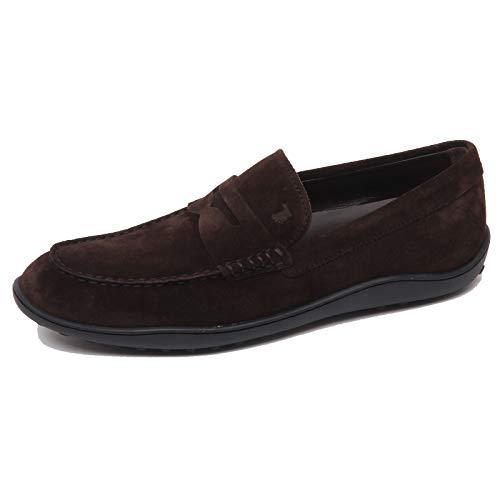 F0314 Mocassino Uomo Dark Brown Tod'S Scarpe Loafer Shoe Man [9.5]