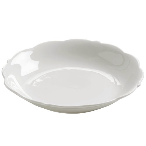 Maxwell & Williams White Rose Fuente de Porcelana, Ensaladera, Blanco, JX76117