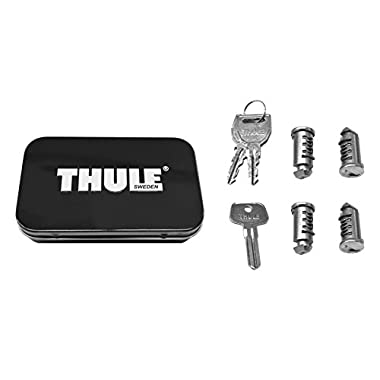 Thule 544 Lock Cylinders for Car Racks (4-Pack),4 Pack