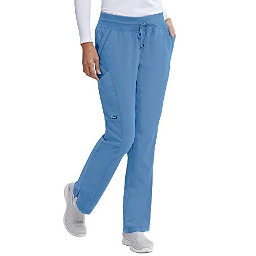 BARCO Grey's Anatomy GRP119 Women's Avana Scrub Pant Ciel Blue XL