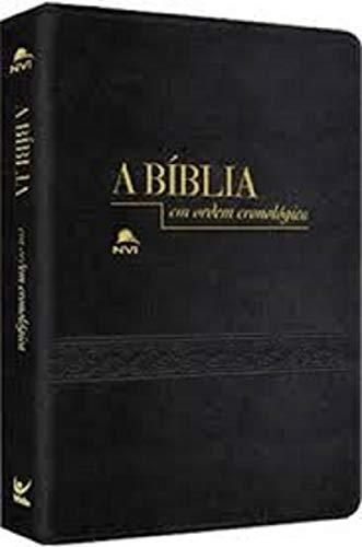 Bíblia Em Ordem Cronológica | NVI | Capa Pu | Preto