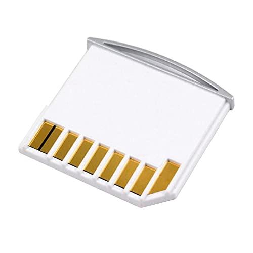 Cablecc Kit Micro SD TF vers carte SD Mini adaptateur pour stockage supplémentaire Air/Pro/Retina Blanc