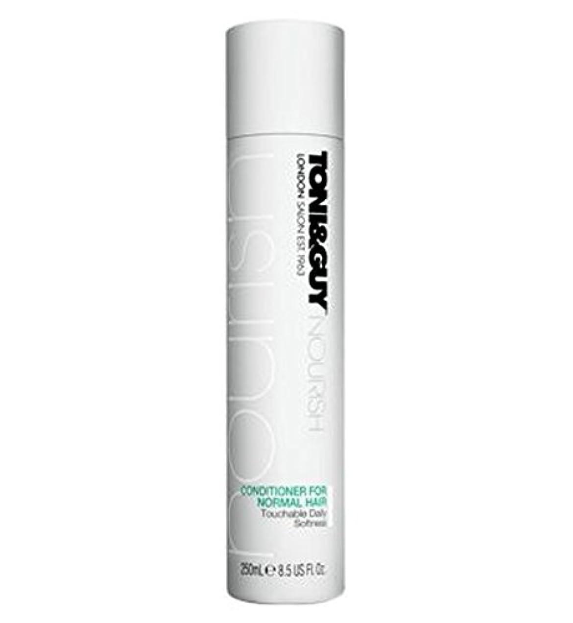 ライナーケーブルカーテーブルToni&Guy Conditioner for Normal Hair 250ml - ノーマルヘア250ミリリットルのためのトニ&男コンディショナー (Toni & Guy) [並行輸入品]