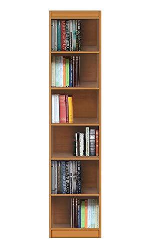 Arteferretto Meuble étagère Haute, Meuble bibliothèque Tout Ouvert avec étagères Ajustables