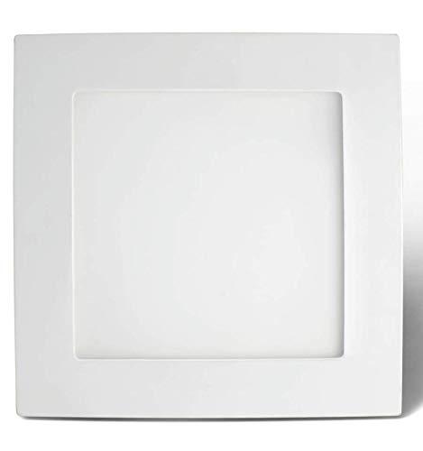 KOSILUM - Dalle LED carré 6W - Syme - Lumière Blanc Chaud Eclairage Salon Chambre Cuisine Couloir - 6W - - LED intégrée - IP20