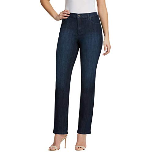 Gloria Vanderbilt Ladies Denim Average Length Jeans - Scottsdale Blue 14