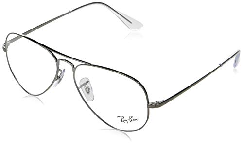 Ray-Ban Aviator-0rx64892502 Gafas, GUNMETAL, 55 Unisex