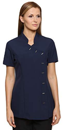 Mirabella Health & Beauty Damen Berufsbekleidung Kasack Arete Marineblau, Gr.- 42/Herstellergröße- 14