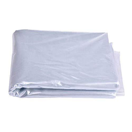 Homiki Protección de Efecto Invernadero de Polietileno Película de plástico Protector Transparente...