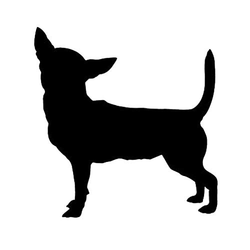 SHMAZ 11.1 * 11.6CM Chihuahua Dog Cute Animal Car Stickers Fashion Decorative Decals Motorcycle Accessories