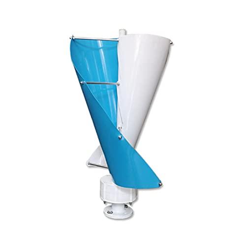Ventilador en espiral pequeño 200W-400W, baja velocidad del viento de arranque, alta utilización de energía eólica; tamaño pequeño, utilizado para iluminación de...