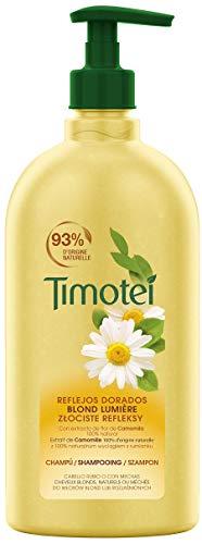 TIMOTEI Champú Camomila Reflejos Dorados 750 ml - Pack de 6
