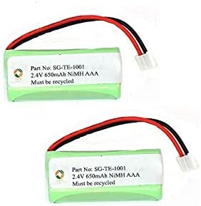 Year-end gift SPS Today's only Brand 2.4V 650mAh Replacement Battery 2 D702 Pa Clarity for