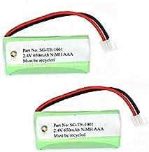 SPS Brand 2.4V 650mAh Replacement Battery for Jensen JTB295 (2 Pack)