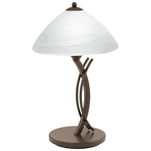 Eglo 91435 Lampe de table, Métal, E27, Marron