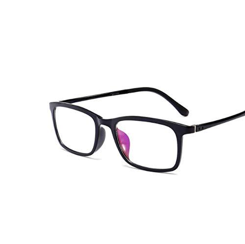 NIUASH Sonnenbrille polarisiert Polarisierte Sonnenbrille Männer Frauen Magnetclip auf Brille TR90 Optische Cat Eye Brille Full Frame Treiberbrille-B