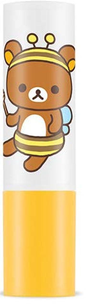 批判する調和のとれたキャンディー★大人気!リラックマ エディション限定版★APIEU アピュ(オピュ)ハニー アンド ミルク リップ バーム 蜜と牛乳の栄養と保湿成分がしっと !