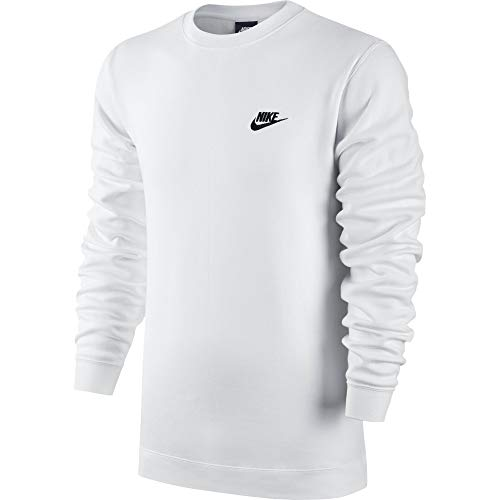 Nike Men's Sportswear Crew White/Black Size Large