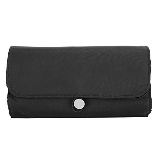 Sac cosmétique, sac de rangement pour outil cosmétique pliable portable étanche pour organisateur pinceau de maquillage crème pour les lèvres