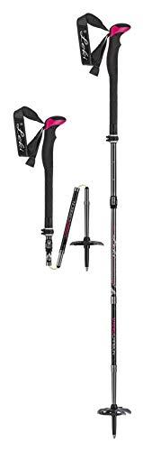 LEKI Tour Stick Vario Carbon Lady Ski Pole Pair