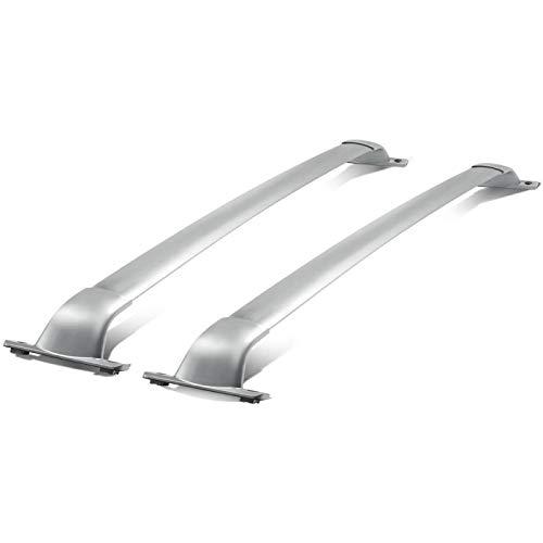 Qwldmj Par de portaequipajes de Techo de Coche con Perno de Aluminio, portaequipajes de Barra Cruzada para Infiniti JX35 / QX60 2014-2020
