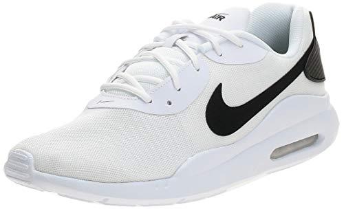 Nike Air MAX Oketo, Zapatillas Deportivas. Hombre, Blanco y Negro, 38 EU