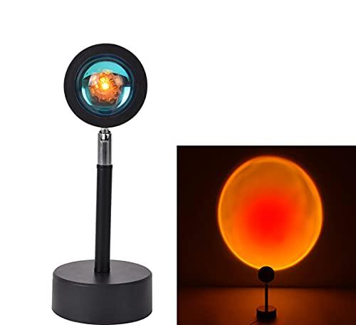 Sunset Lamp, Sunset Projection Lamp, Romantic Visual Mood Lamp, Floor Lamp...
