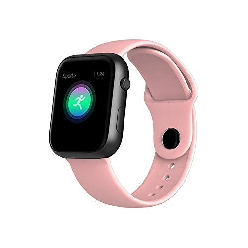 Fitnessarmband, bluetooth, smartwatch, fitness-monitor, bloeddruk, IP67, waterdicht, voor Apple Watch, vrouwen, sport, smartwatch, fitness-tracker, slaapmonitor, stappenteller, Goud roze