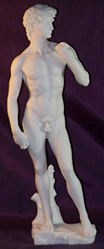 US 13 Inch Classical Replica - Michelangelo - David Nude Figurine