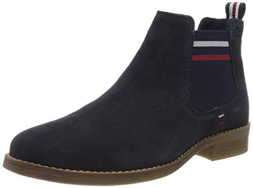s.Oliver Damen 5-5-25335-34 Chelsea Boots, Blau (Navy 805), 39 EU