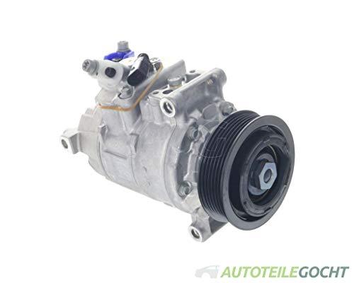 DENSO Klimakompressor für VW MULTIVAN 5 7HM 7HN 7HF 7EF 7EM 7EN 12-15 7E0820803E, 7E0820803G von Autoteile Gocht