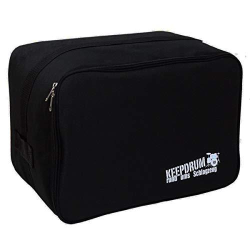 keepdrum CB04 Cajon-Tasche Bag klein Gigbag für Kinder-Cajon passt für alle Kindercajons Junior Box StarBox, TigerBox