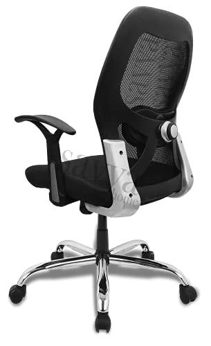 APEX Chairs MARCOZY Star Base Medium Back Office Chair (MARCOZY)