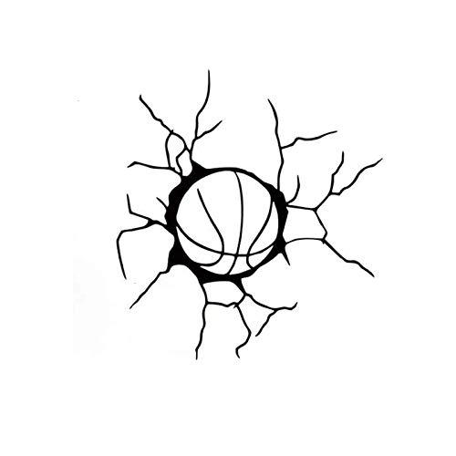 Rmtdczv 2 Stücke, Basketball Sport Team Spiel Ball Weiß Vinyl Auto Aufkleber Motorrad Fahrrad Gepäck Aufkleber Graffiti Patches Skateboard Aufkleber Für Laptop Aufkleber