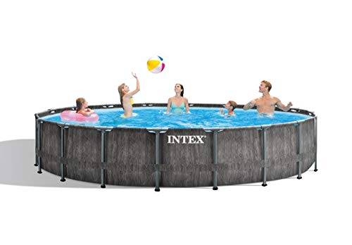 Intex Greywood Prism Frame Premium Pool Set