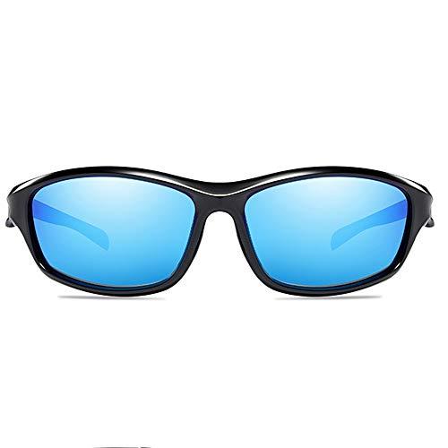 MGWA Gafas de sol a prueba de arena, para deportes al aire libre, polarizadas, material de policarbonato, protección UV, UV400, color azul/verde, para...